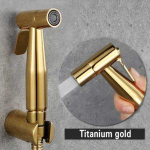bidet spray gun gold color