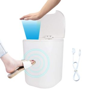 touchless waste bin